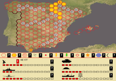 An alternative history game in which Spain enters WWII